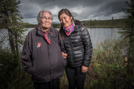 Peel Watershed Portrait Exhibit in Whitehorse photo