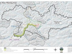 Beaver River watershed - map by planning commission