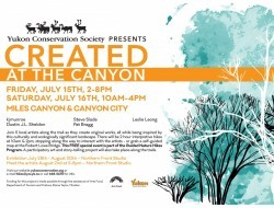 Created at the Canyon - poster