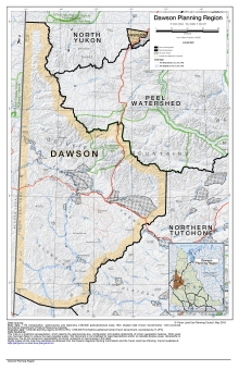 Dawson Regional Land Use Plan map